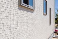 外壁張替えレンガタイル貼り