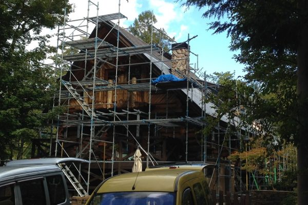 葺き替えと外壁塗装