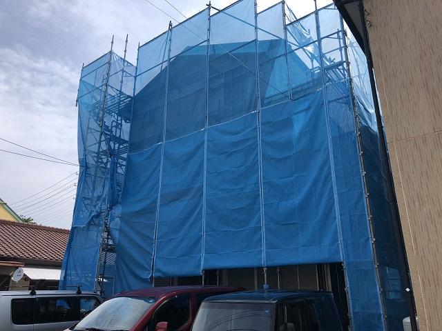 外壁塗装 工事期間