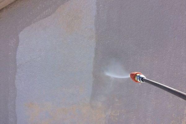 塗装 高圧洗浄