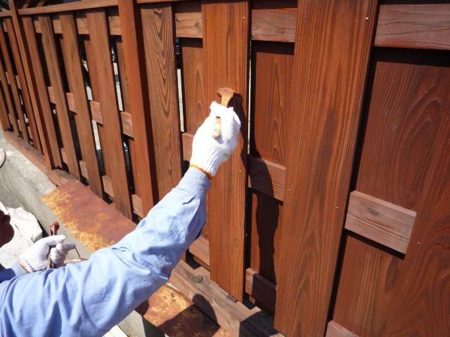 木材塗装 御殿場市