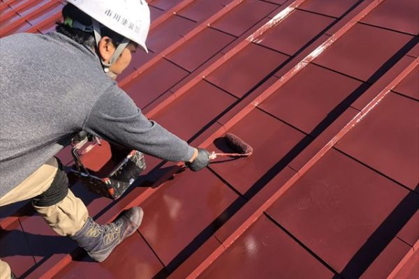 屋根塗装フッ素