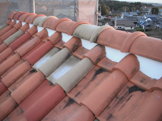 三島市 屋根葺き直し工事