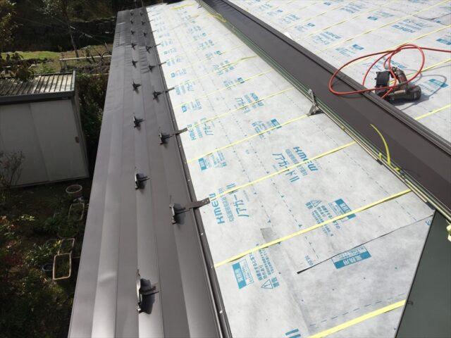 三島市 屋根カバー工法