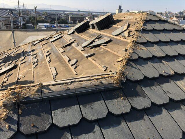 裾野市 屋根葺き替え工事