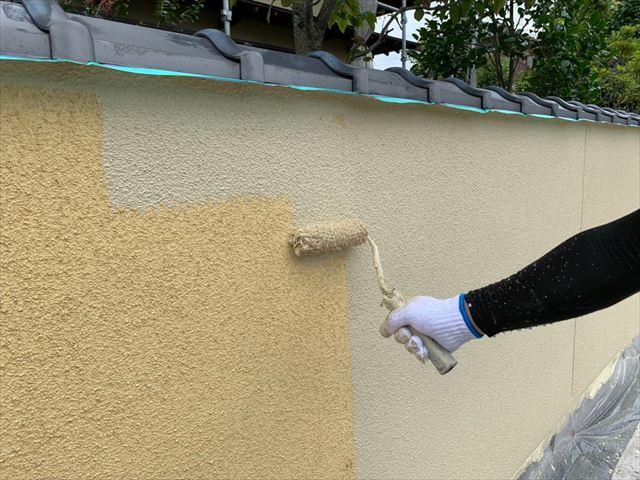 付帯部塗装工事